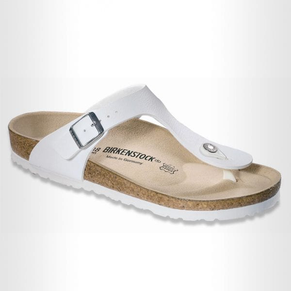 Birkenstock-Gizeh-White