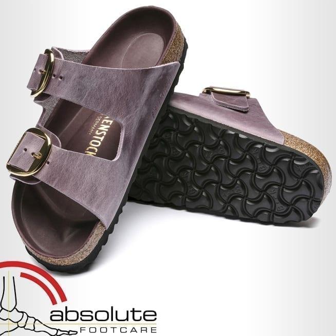 Birkenstock Arizona Big Buckle Lavender Blush Oiled Leather 1017555 – Regular Fit