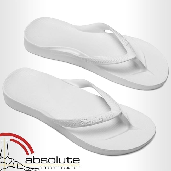 Archies Thongs-White